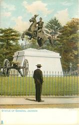STATUE OF GENERAL JACKSON