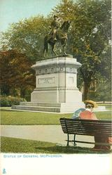 STATUE OF GENERAL MCPHERSON