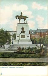 STATUE OF GENERAL SHERMAN