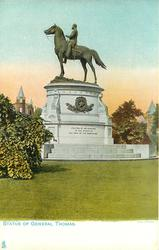 STATUE OF GENERAL THOMAS
