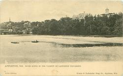 RIVER SCENE IN THE VICINITY OF LAWRENCE UNIVERSITY