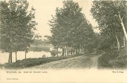 FOOT OF WILSON LAKE