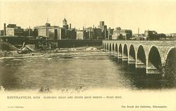 FLOURING MILLS AND STONE ARCH BRIDGE - WEST SIDE
