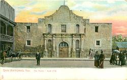 THE ALAMO - BUILT 1718