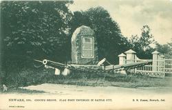 COOCH'S BRIDGE, FLAG FIRST UNFURLED IN BATTLE 1777