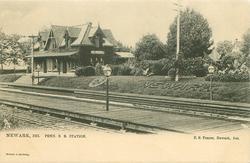 PENN. R.R. STATION