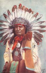 "CHIEF ""HOLLOW HORN"""