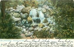WATERFALL, LAKE PARK