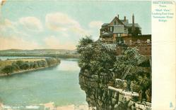 """""""BLUFF VIEW,"""" LOOKING EAST FROM TENNESSEE RIVER BRIDGE"""