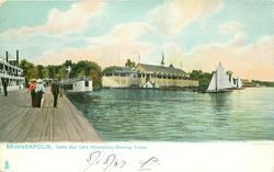 TONKA BAY - LAKE MINNETONKA, SHOWING CASINO