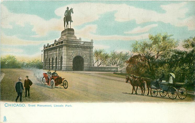 GRANT MONUMENT, LINCOLN PARK