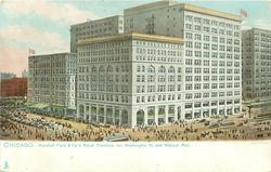 MARSHALL FIELD & CO.'S RETAIL PREMISES, COR. WASHINGTON ST. AND WABASH AVE.
