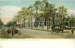 NORTH SHORE DRIVE, RESIDENCE OF MRS. POTTER PALMER