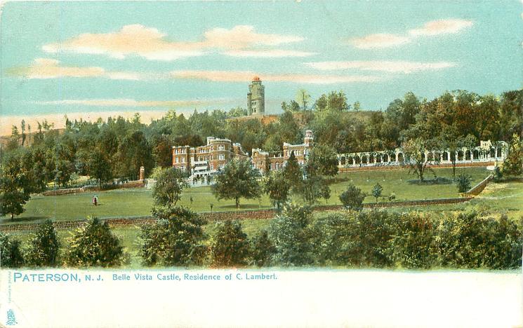BELLE VISTA CASTLE, RESIDENCE OF C. LAMBERT