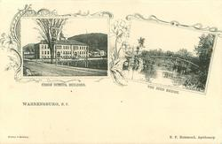 2 insets UNION SCHOOL BUILDING and THE JUDD BRIDGE