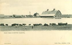 FARM SCENE IN SOUTH DAKOTA