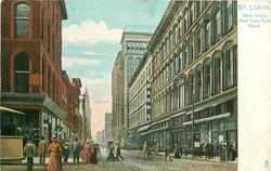 OLIVE STREET, WEST FROM SIXTH STREET