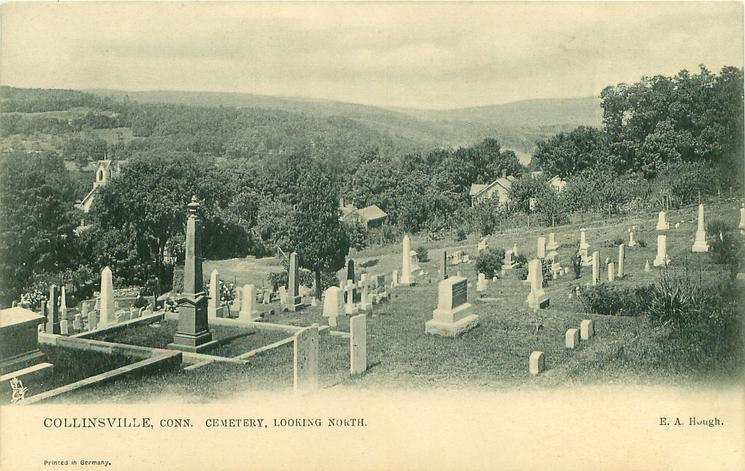 CEMETERY, LOOKING NORTH