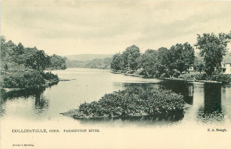 FARMINGTON RIVER  looking downstream