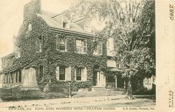 KAPPA ALPHA FRATERNITY HOUSE - DELAWARE COLLEGE