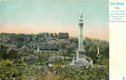 IOWA AND NEW YORK MONUMENTS, CRAVENS HOUSE AND POINT, LOOKOUT MOUNTAIN
