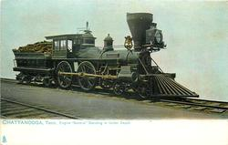 """ENGINE """"GENERAL"""" STANDING IN UNION DEPOT"""