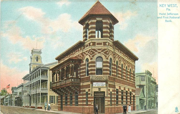 HOTEL JEFFERSON AND FIRST NATIONAL BANK