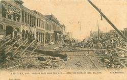 LOOKING EAST FROM 23D AVE. - AFTER THE TORNADO MAR. 2D, 1906