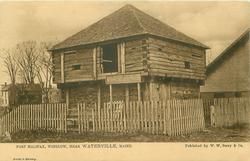 FORT HALIFAX, WINSLOW, NEAR WATERVILLE, MAINE