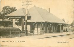 D.L. & W. STATION