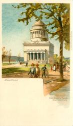 NEW YORK, GEN. GRANT'S TOMB, RIVERSIDE PARK