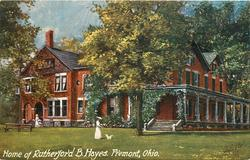 HOME OF RUTHERFORD B. HAYES, FREMONT, OHIO