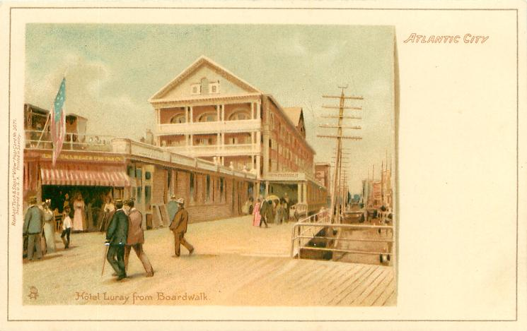 HOTEL LURAY FROM BOARDWALK