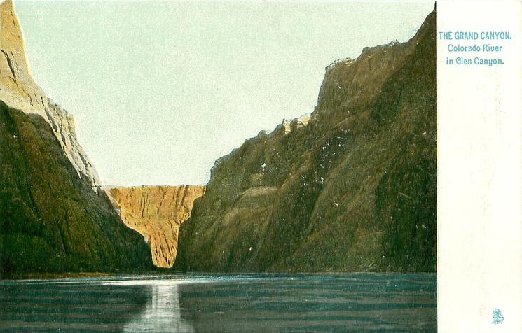 COLORADO RIVER IN GLEN CANYON