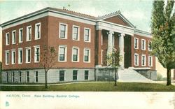 MAIN BUILDING - BUCHTEL COLLEGE