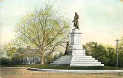 ROGER WILLIAMS STATUE AND BETSY WILLIAMS COTTAGE - ROGER WILLIAMS PARK
