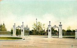GATE - ROGER WILLIAMS PARK