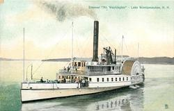 "STEAMER ""MT. WASHINGTON"" - LAKE WINNIPESAUKEE, N.H."