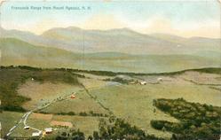 FRANCONIA RANGE FROM MOUNT AGASSIZ, N.H.