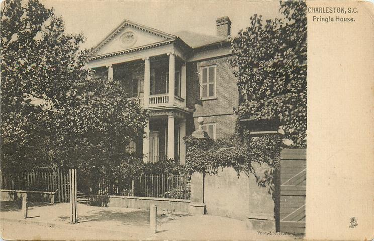 PRINGLE HOUSE