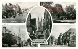 5 insets HIGH STREET/THE GARDENS/MIDDLE ROW AND CHURCH/CHURCH ROAD/HIGH STREET AND COUNCIL CHAMBERS