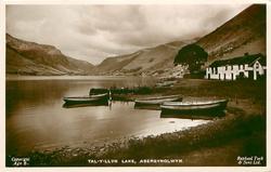 TAL-Y-LLYN LAKE, mid-distant view