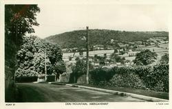 DERI MOUNTAIN  road in foreground