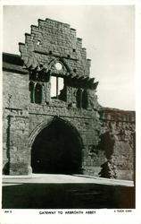 GATEWAY TO  ARBROATH ABBEY