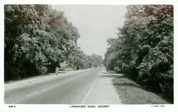 LYNDHURST ROAD, person on left