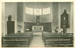 INTERIOR OF ST. THERESE CHURCH