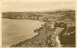 CLIFF WALK, BULL BAY