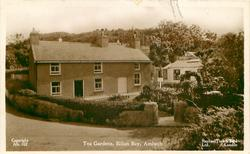 TEA GARDENS, EILIAN BAY  road front left