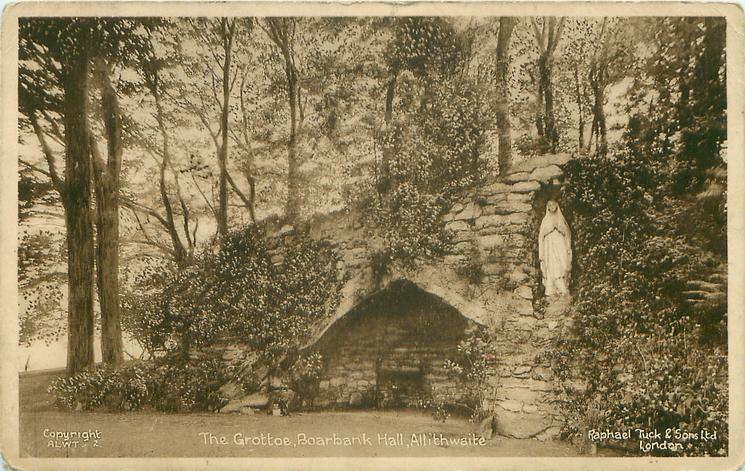 THE GROTTOE, BOARBANK HALL