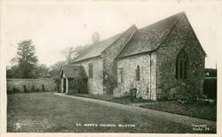 ST. MARY'S CHURCH, MILSTON